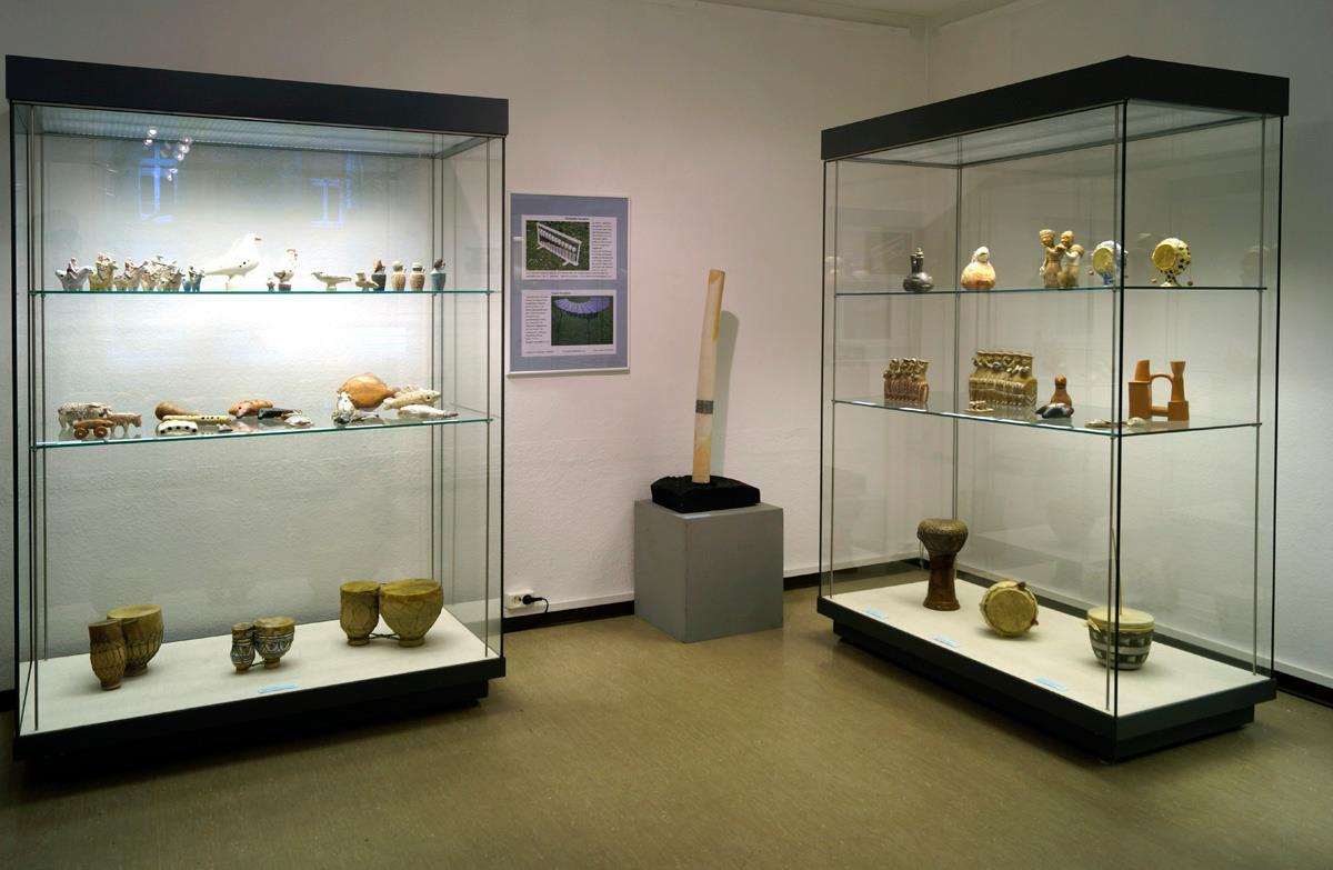 Ausstellungsraum Innenansicht Kabinett